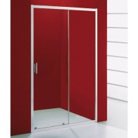 Paroi de douche porte coulissante à droite GALAXY L96-100 BASIC SEGMENT