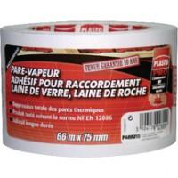 Adhésif PVC non étirable pare-vapeur 66mx75mm LONGVIC