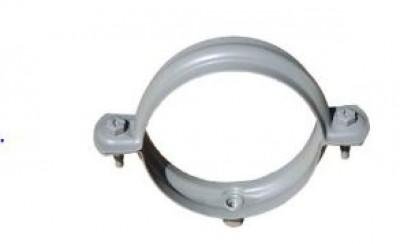 Collier 10x10 gris perle E7 diamètre 100