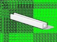 Bloc béton cellulaire linteau 600x365x250mm