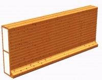 Planelle isolée PCI 5-24 800x50x240mm