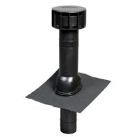 Terminal Multivent diamètre 131mm pente 25-46° noir UBBINK