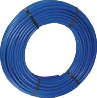 Tube PER nu diamètre 16mm bleu, couronne 240m