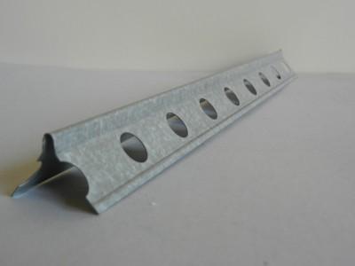 Renfort angle acier perforé 6910 longueur 2.5m RICHTER SYSTEM