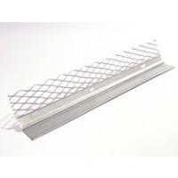 Profilé STOP ENDUIT SANS PVC en métal déployé 3m