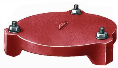 Plaque hermétique SME seule diamètre nominal 100mm PONT A MOUSSON