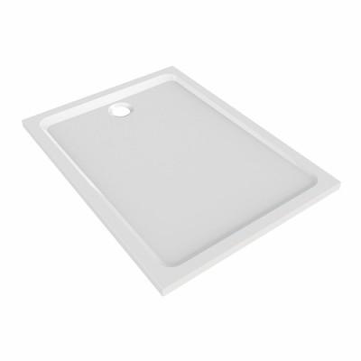 Receveur PRIMA STYLE marbrex XPAP 100x80cm blanc ALLIA