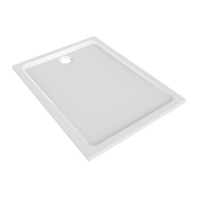 Receveur PRIMA STYLE marbrex XPAP 100x90cm blanc ALLIA