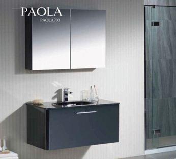 Armoire Miroir De Salle De Bain Paola 70 Ottofond Beaucouze 49070