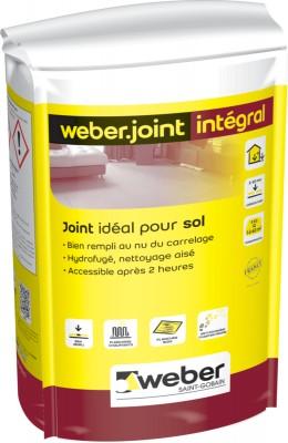 Joint de carrelage weber.joint intégral - teinte liège T03 - sac de 5 kg