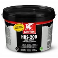 Enduit HBS-200 caoutchouc liquide seau 5l GRIFFON