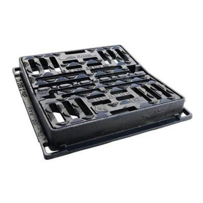 Grille concave SQUADRA 70x70 C250 70x70 PONT A MOUSSON
