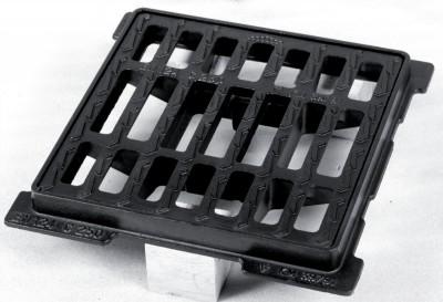 Grille OPTEA plate carré C250 60x60cm PONT A MOUSSON