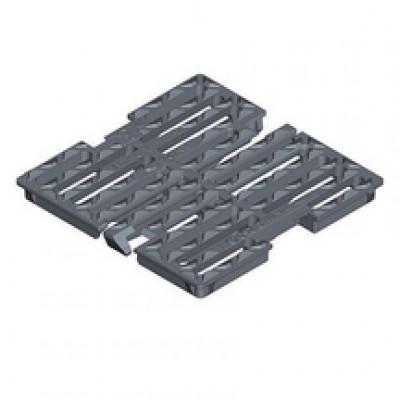 Grille plate carrée squadra 700 ouverture 600mm accès PMR C250 720x720mm PONT A MOUSSON