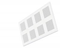 Plaque de plâtre pour plafond GYPTONE ACTIV'AIR QUATTRO 46 à bords amincis - 240x120cm ép.13mm - PLACO