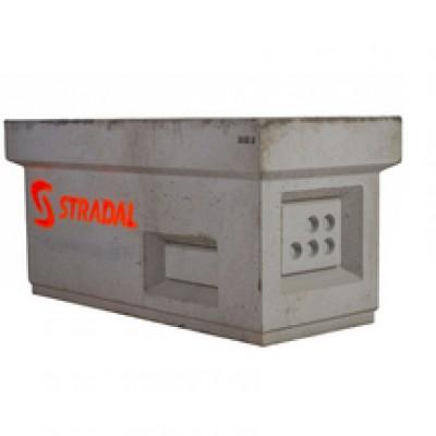 Chambre béton K1C avec fond STRADAL