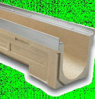 Caniveau avec grille fonte diamètre 400mm hauteur 313mm ULMA