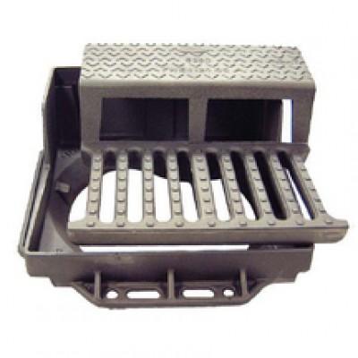 Grille avaloir GAT profil T C250 500x500mm FONDATEL VOIRIE