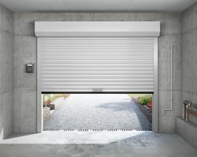 Porte de garage eveno enroulement motoris rol 78 for Porte de garage 2 50 m de large