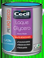Peinture laqué de decoration satinee glycero framboise 0,5l V33 DIVISION PRO CECIL