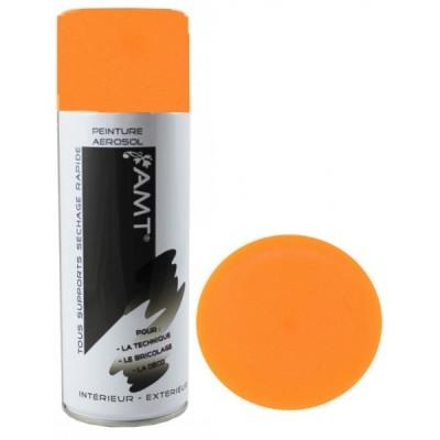 Aérosol De Peinture Acrylique Orange Fluo Bombe 400ml Nespoli La