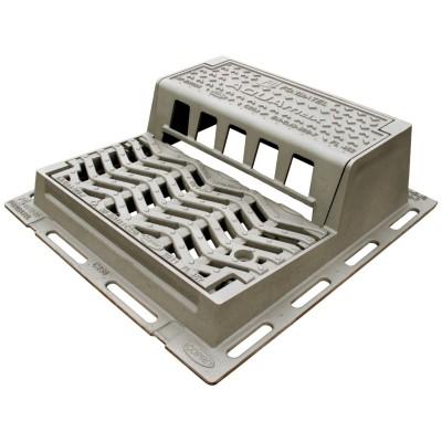 Grille avaloir AQUAMAX profil A PMR D400 FONDATEL
