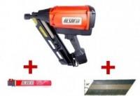 Kit cloueur gaz D90G1 + 2200 pointes + 2 cartouches gaz