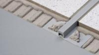Joint de rupture pour pose collée DURAL DURAFLEX PVC gris parties visibles extra-minces 2500mm 12.5mm 5mm