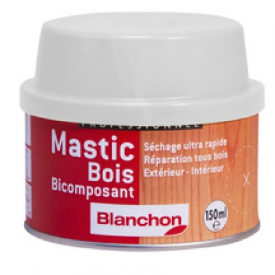 Mastic bi-composant acajou cartouche 150ml