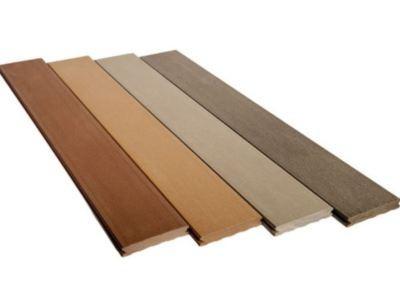 lame terrasse composite legance gris anthracite 1 face lisse 23x180x4000mm - Destockage Lame Composite