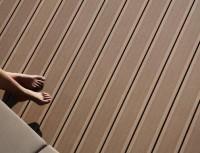 Lame de terrasse composite élegance gris iroise rainurée 23x138x4000mm