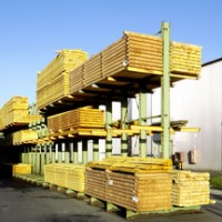 Sapin 100x300x6500mm charpente traité classe 2 Europe