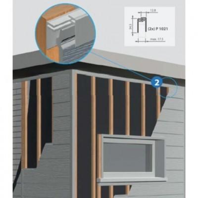 profil de finition pvc clipsable sable 6m 1021 saint brieuc 22000 d stockage habitat. Black Bedroom Furniture Sets. Home Design Ideas