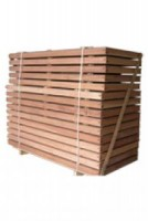 Traverse huisserie 90x60mm sapin 730mm