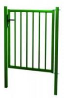 Le portillon PRACTIS vert hauteur 1.75m largeur 1.00m  à sceller grillage LIPPI LA CLOTURE
