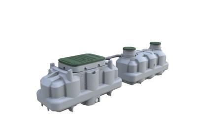 Filière compacte ECOFLO PE2 8EH sortie basse PREMIER TECH AQUA