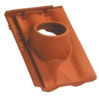 Tuile ventilation DELTA 10 rouge nuancé IMERYS TOITURE