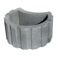Bloc TALUDECOR diamètre 50cm gris FALPA