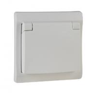 Prise de courant 2P+T encastré blanc SCHNEIDER ELECTRIC
