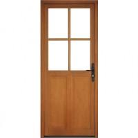 Porte briare 4 carreaux petits bois 215x80cm 3 pièces