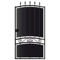Portillon molène (9016) sans accessoire 125x100m gauche