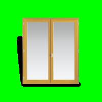 Cadre seul (3x2) pin las fenêtre 2 vantaux 115x90