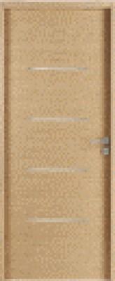 Bloc-porte Alliage Fin de chantier 72/100 hauteur 204x73cm droite poussant