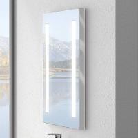Miroir TODAY blanc largeur 80cm