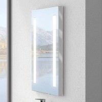 Miroir TODAY blanc largeur 100cm