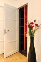 Porte NEPTUNE blanc satin 2125x730 FF escalier ROZIERE