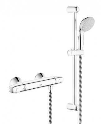 Combiné de douche thermostatique Grohtherm 1000 NEW C3 GROHE