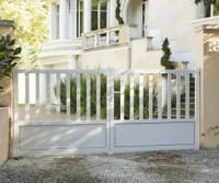 Vantail TURIN couleur blanc sans accessoire 140x300cm droite ROY