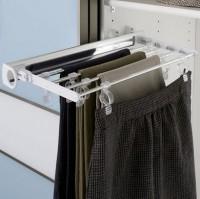 Porte-pantalons UNIVERS aluminium largeur 60cm