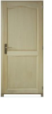 Bloc-porte poussant gauche modèle PRAGUE bois paulownia 2040x730mm